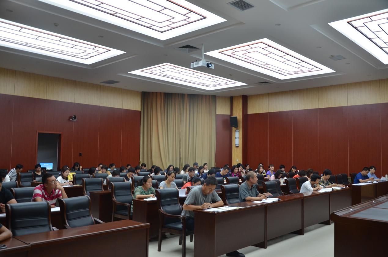 公共课教学部分工会第二届工会委员会换...